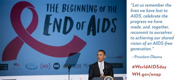 Statement from President Obama on #WorldAIDSDay 2012: http://on.wh.gov/8wAZeHy http://pic.twitter.com/18FO5tx6