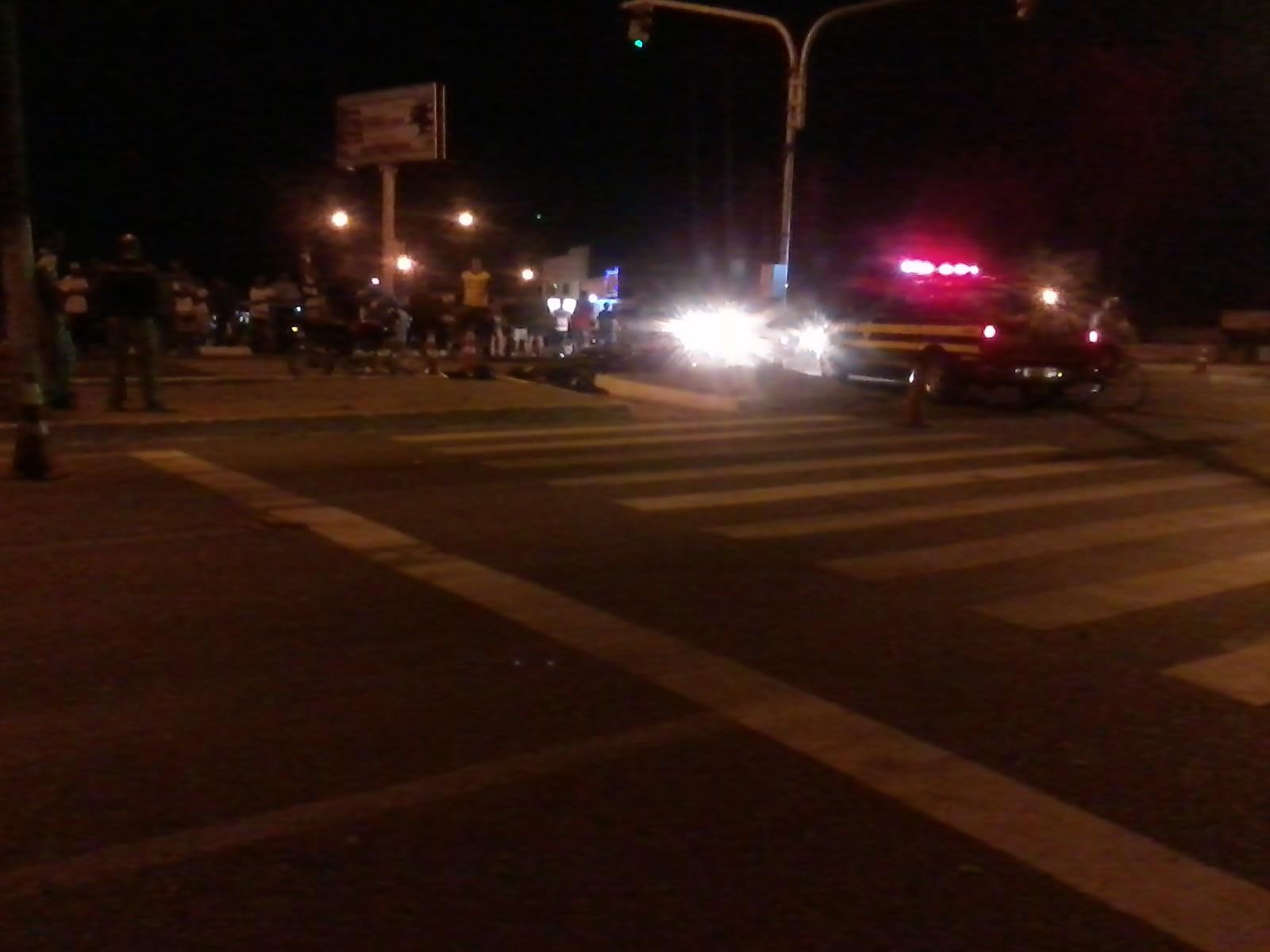 Colisão entre motos deixa um  morto na rodovia BR-101 - Parnamirim