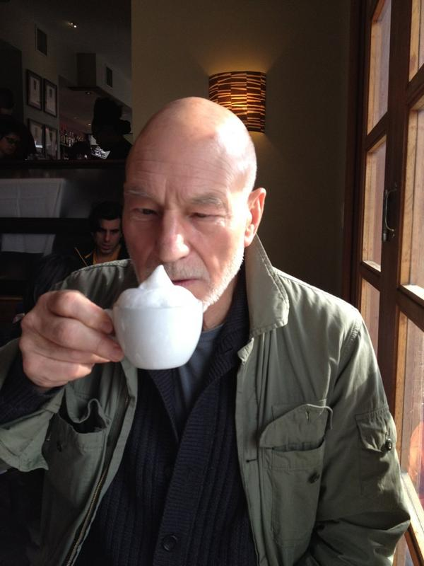 Patrick Stewart On Twitter Its How We Do It In Belgiumits