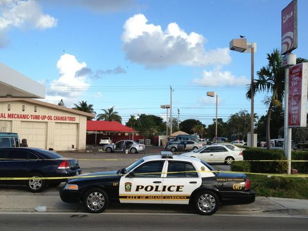 Liz Nagy On Twitter Breaking Miami Gardens Police On Scene Of Fatal Shooting At U Gas Station