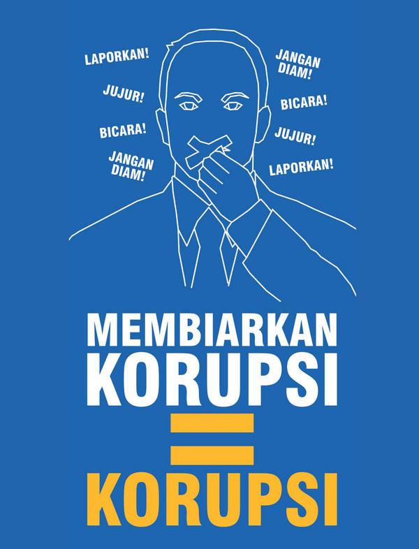Perpus Kemenkeu Twitterissa Poster Membiarkan Korupsi Http
