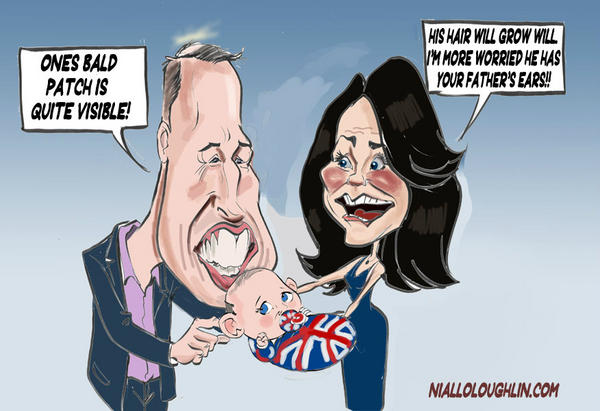 RT @nialloloughlin: #royalbaby Exclusive 1st picture of the royal baby http://pic.twitter.com/0t78MI4F