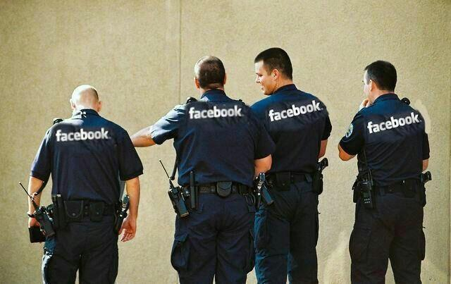 the FaceBook Police