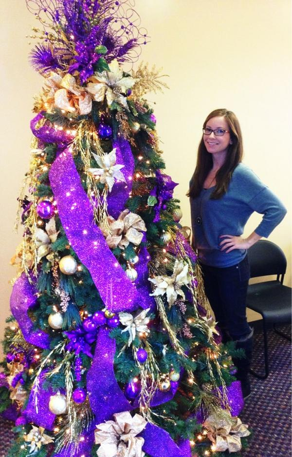 Serena Winters On Twitter Lakers Christmas Tree At The