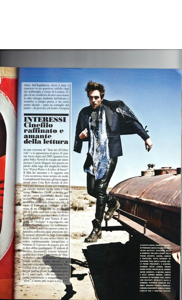 9th page @voguemagazine @spunk_ransom Last page from the article...Lovely photos.. http://t.co/FEysxLSu