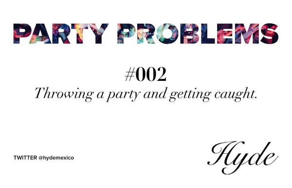 Where to throw a party without getting caught