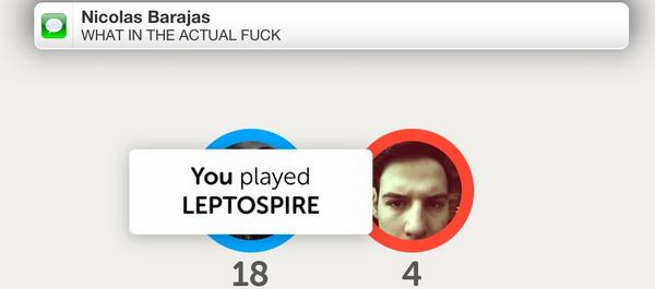 Fun with Letterpress and meningitis. (@nicbarajas is having less fun with it.) http://t.co/caxVMqnV