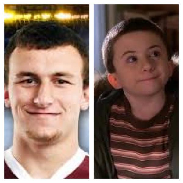 Daniel Jeremiah On Twitter Johnny Manziel Looks Like A Grown Version Of Brick From The Middle Tco AzDtBO3S