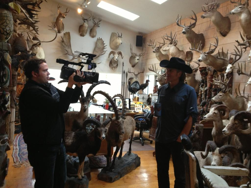 Jim Shockey On Twitter Quot Giving The Film Crew A Tour Of