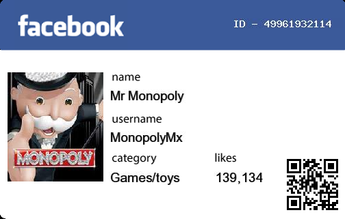 Facebook id Card on Twitter: