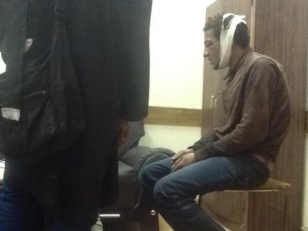 داخل التحقيقات بنيابة مصر الجديدة تعذيب موت http://pic.twitter.com/iidvVcFh