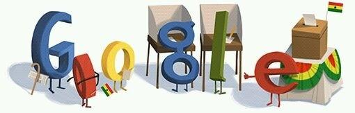 RT @Ashesi: #GhanaDecides: Today's Google doodle, in honour of Ghana's election: http://pic.twitter.com/0nRJJQmH