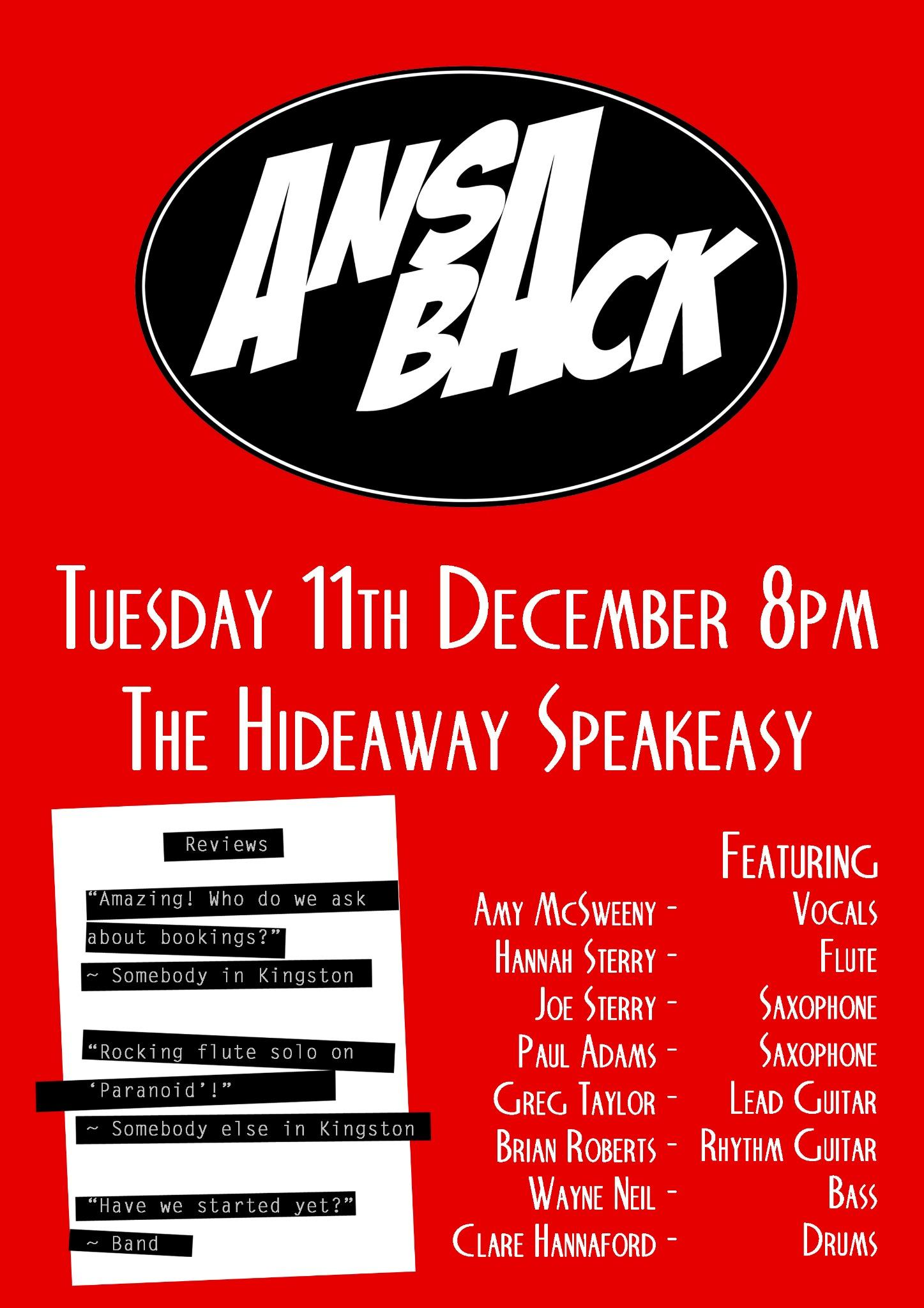 Ansa Back Poster