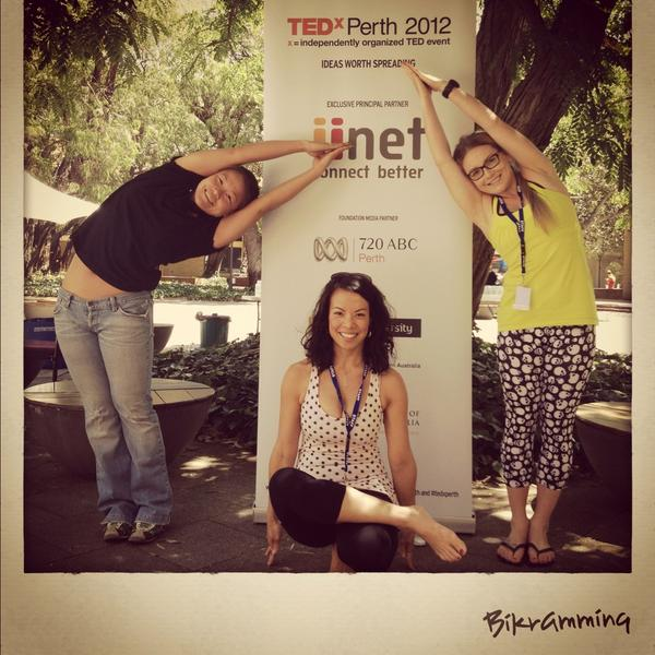 #TEDxPerth #bikram #bikramlove #BikramYoga #Perth #perthcity http://pic.twitter.com/kM8yPDFF