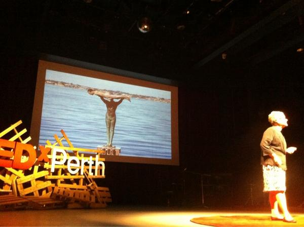 #planking hey @skinny_butt look who appeared in a slide at #TEDxPerth http://pic.twitter.com/PcjfcKTl