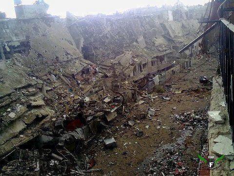 اوباما هذه حمص التي تقاتل فيها جبهة النصره A9mfcqzCEAAaxee