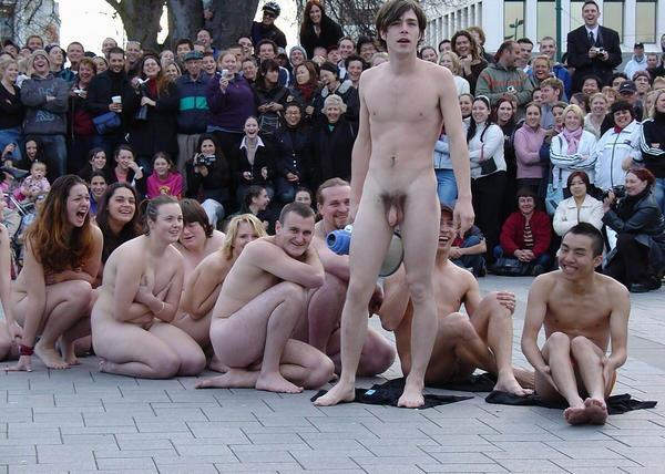 Nudist rally photo #11