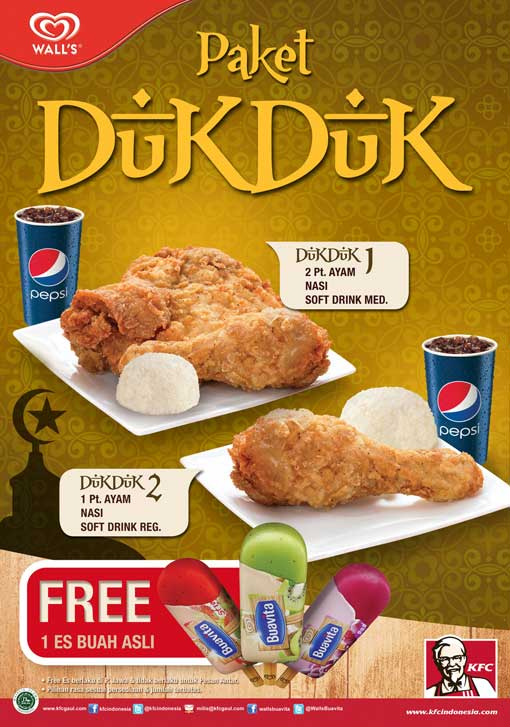 Kfc Jagonya Ayam On Twitter Paket Dukduk 1 Itu Rp 27 273