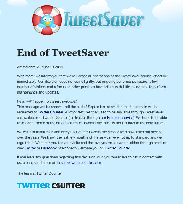 Tweet counter not updating