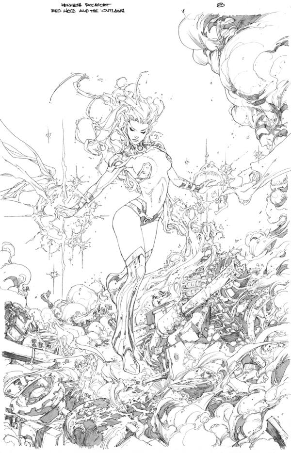 dc on twitter rt mitografia splash page preview of red hood and the outlaws 52splash httptco6dwtzd0