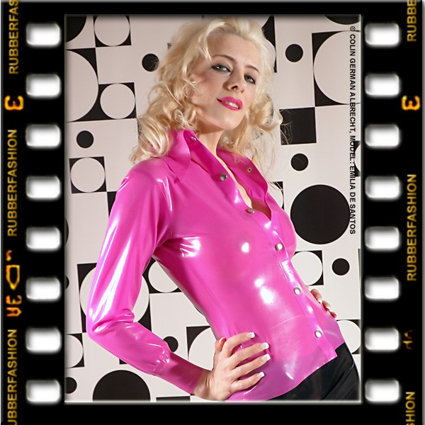 on twitter nice pink latex blouse. Black Bedroom Furniture Sets. Home Design Ideas