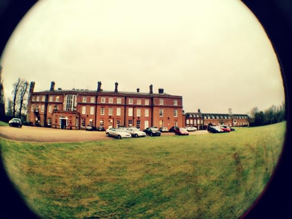 Not a bad office for the day huh? Kicking off day 2 of the Women In Science And The Media course @CumberlandLodge #wstm http://pic.twitter.com/oazNFnJY
