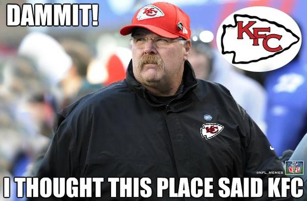 Nfl Memes On Twitter Quot Andy Reid S Big Mistake Http T