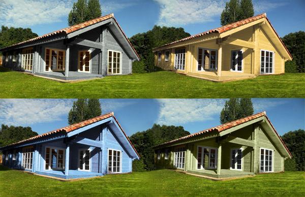 Maison bois en kit on Twitter Quelques couleurs de la maison bois Loui