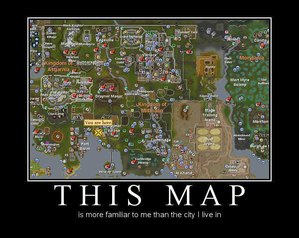 Runescape Memes On Twitter Runescape 3 The Rs World Map Http