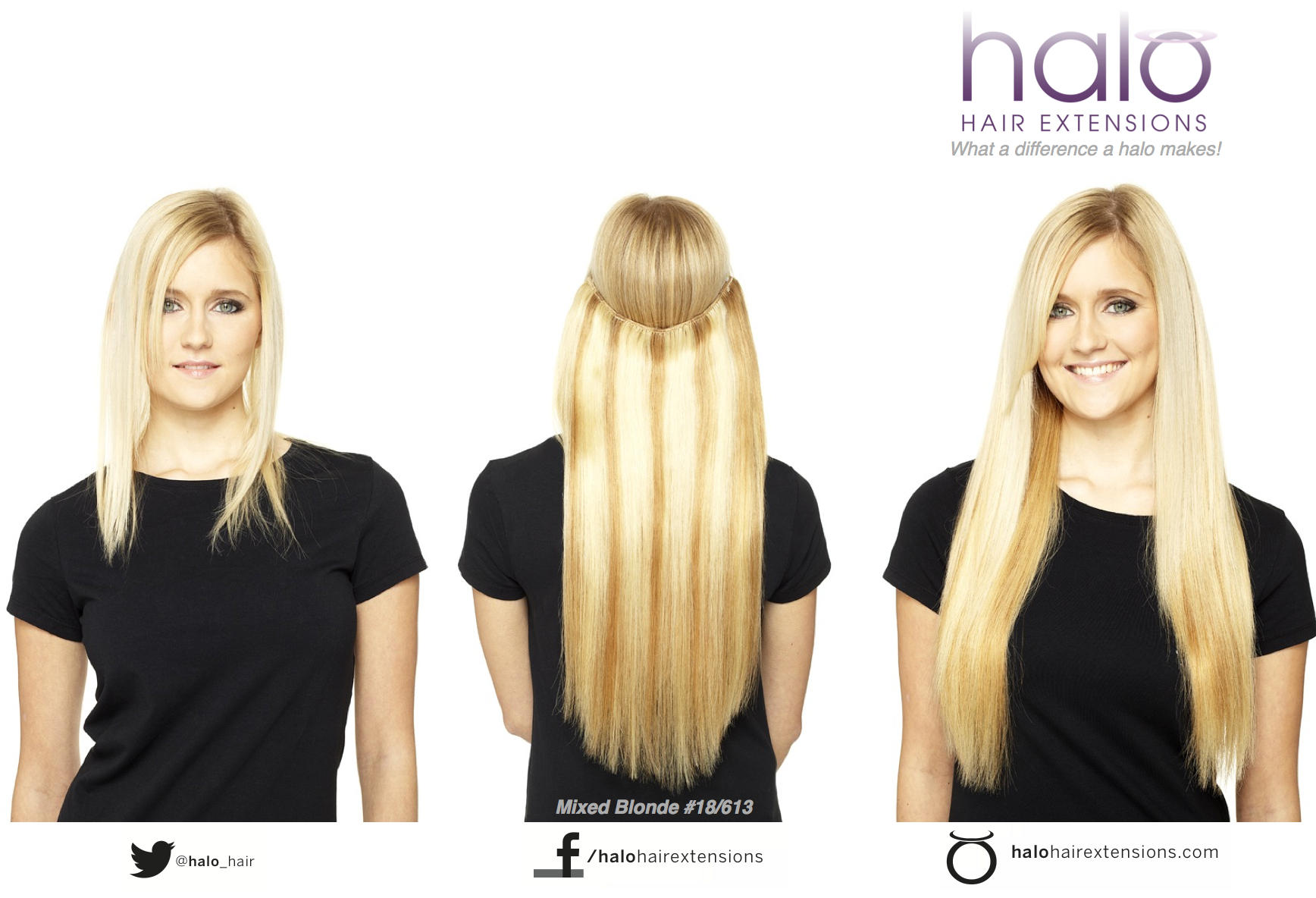 Halo Hair Extensions On Twitter Heres A Great Photo Of Our Mixed