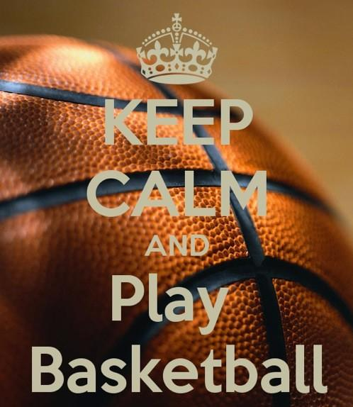 gallery keep calm and play basketball