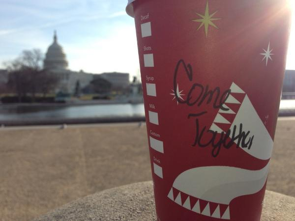 #Starbucks #ComeTogether #America #Beatles http://pic.twitter.com/VlcrZCDu