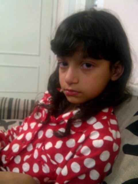 Saoud Kulaib's daughter crying after her father was arrested by state security apparatus !!  #uaedetainees  #UAE pic.twitter.com/hnR7A9EF