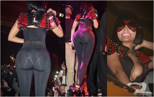 Nicki Minaj In Tight Yoga Pants Girls in Yoga P...