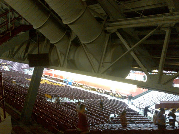 Image result for obstructed view seats