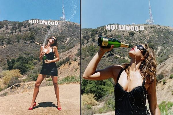 Happy New Year! We're popping champagne tonight although it probably won't be as fun as this shoot with @Terry_World ! http://pic.twitter.com/ncUIJ4xy