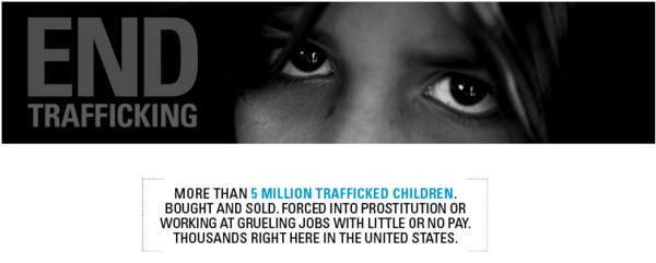 Please #FF & support our friends @EndTraffick Over 5 million trafficked Children. Bought & sold. Many here in the US. http://t.co/L9VyDvsb