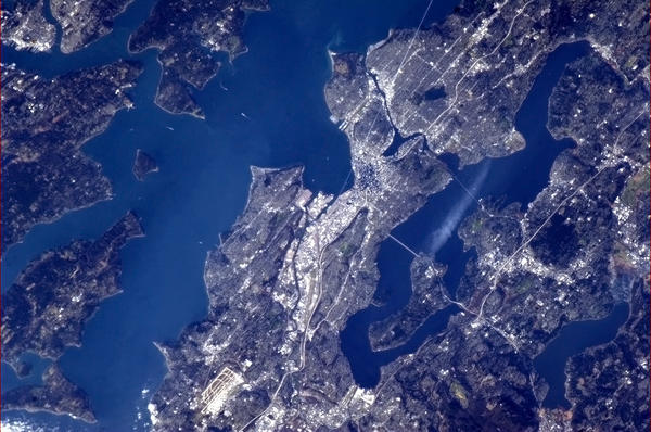 Seattle from space