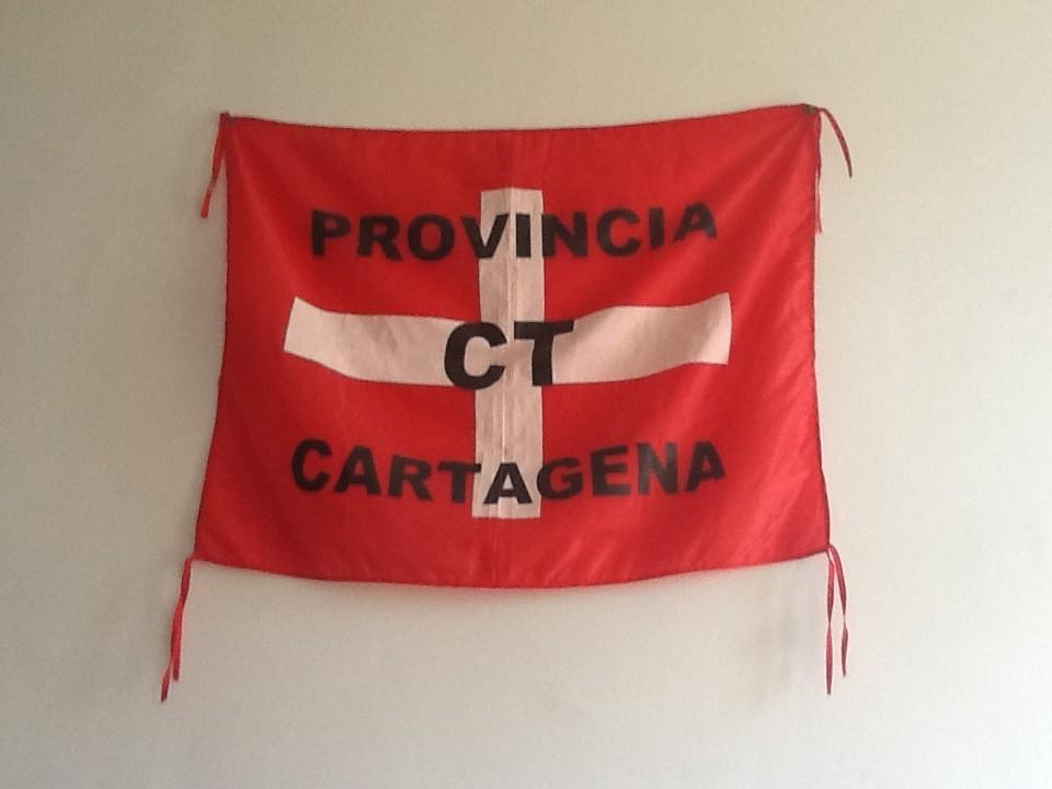 RT @Josema_Ruiz: #LoBuenoDeSerCartagenero es vivir a miles de kilómetros y exponer con orgullo esta bandera en tu habitación http://t.co ...