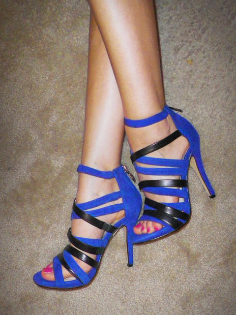 "Michael Kors on Twitter: ""These royal blue heels are electric! RT ..."