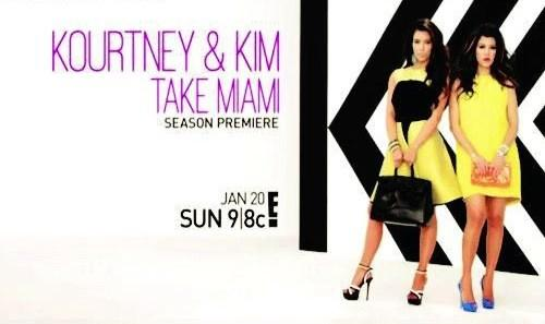 Kourtney & Kim Take Miami Retweet If you can't wait to watch the brand new season on Sunday Jan 20 at 9|8c only on E! http://t.co/GUgCBWin