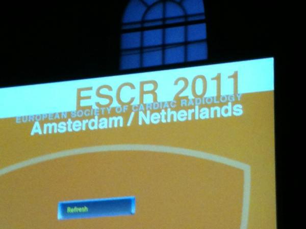 Dag 2 #escr2011 http://t.co/a5IvqPCz