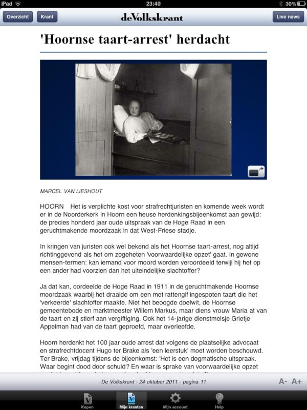hoornse taart arrest Gladys Blokland on Twitter: