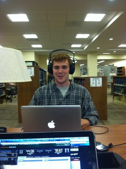Just killin a paper in the library #noisecancelled #noob @j0tter @backwardsteve