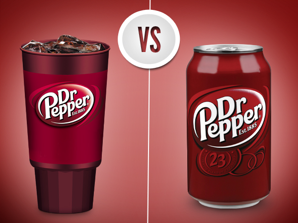 Your thoughts? RT @drpepper: From a fountain vs out of the can. When is Dr Pepper at its sweetest? http://t.co/YkgLauO5