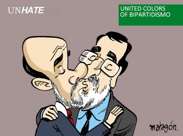 United colors of Bipartidismo ;) #jornadadereflexion #reflexionando http://t.co/DZMtDZxV