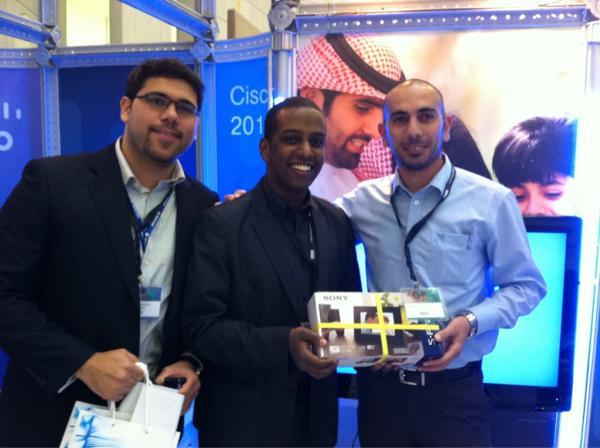 مبارك للفائز الثالث بجوائزنا إيهاب سعيفان.. #CE11KSA http://t.co/qVG06Wb1