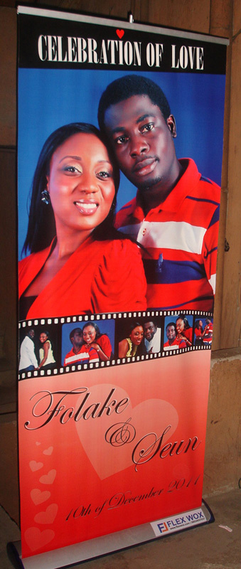 Flexwox Roll Banners On Twitter Do You Need A Roll Up Banner Like This For A Wedding Event Stands Also Available For Hire Http T Co Tagytzvm