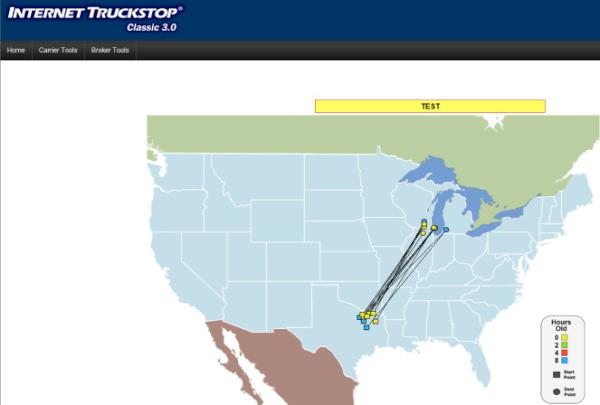 Internet Truckstop Classic >> Truckstop Com On Twitter Visiload Is Now Available With Classic