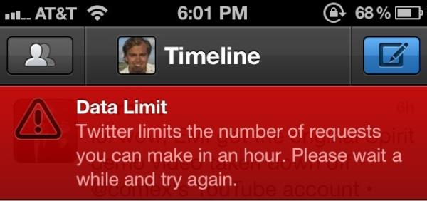 Ohhh so you thought you can just move to Tweetbot? Just like that? Dream on, they got you by the balls http://t.co/8lLkDZCg